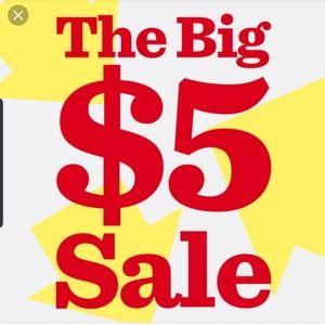 Shoes - $5 deals